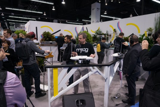 NAMM2014 moog music Theremini