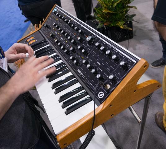 NAMM2014 moog music Sub37