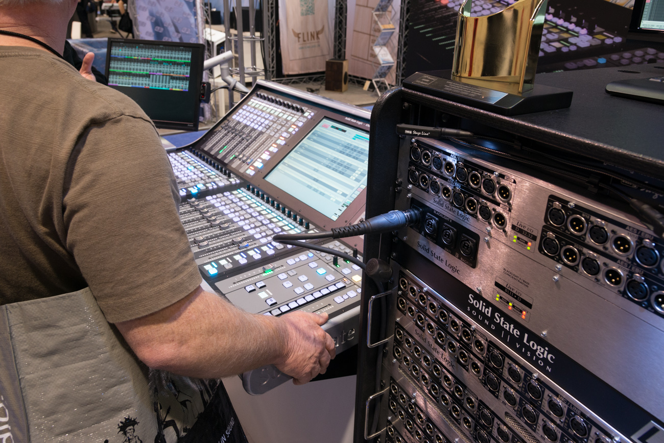 Winter NAMM2014 : Solid State Logic