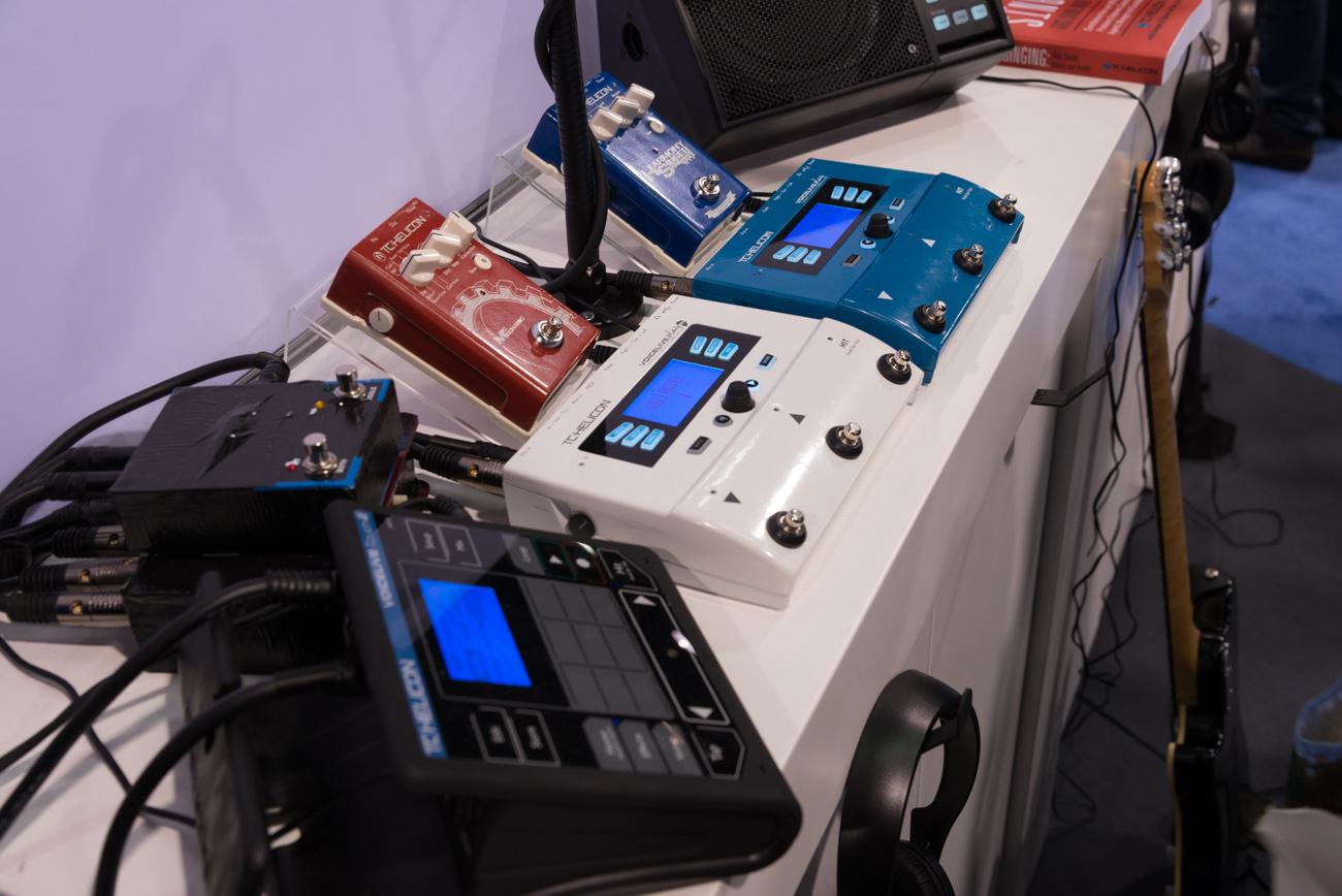 Winter NAMM 2014 : TC-Helicon & TC Electronic