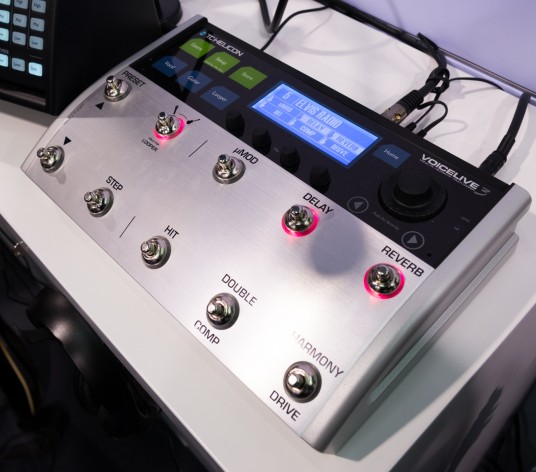 NAMM2014 TC-Helicon VoiceLive3