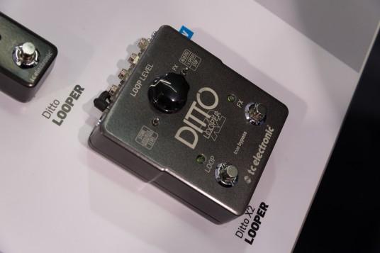 NAMM2014 TC Electronic Ditto Looper X2