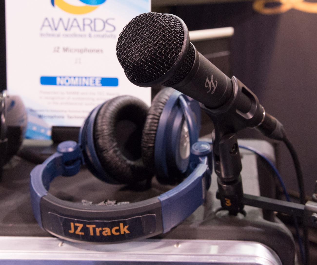 Winter NAMM2014:JZ Microphones USA