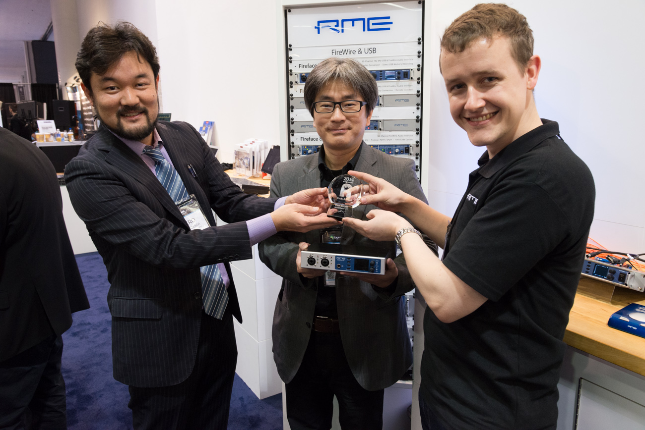 Winter NAMM 2014 : RME