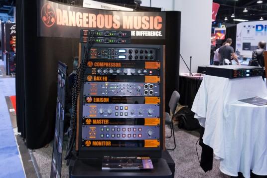 NAMM2014 DANGEROUS MUSIC booth