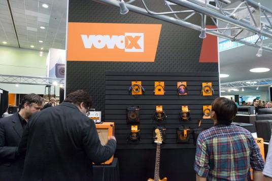 NAMM2014 VOVOX booth
