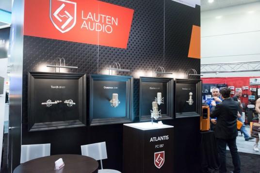 Lauten Audio booth