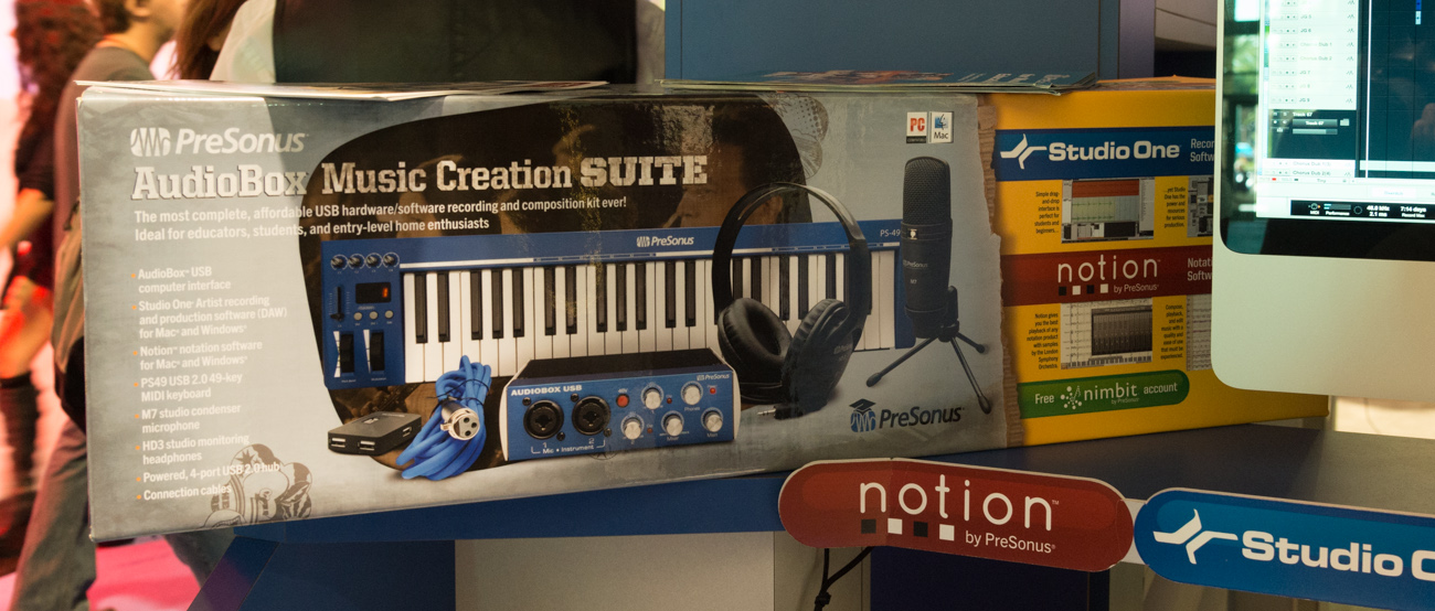 Winter NAMM 2014:Presonus