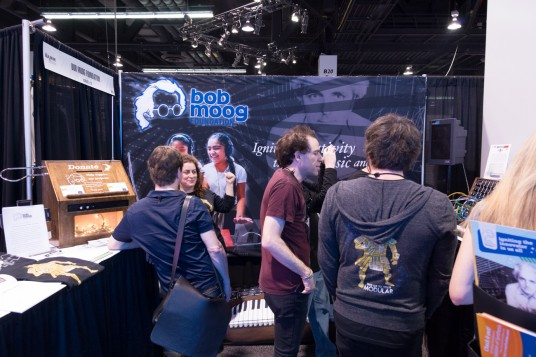 NAMM2014 Bob Moog Foundation