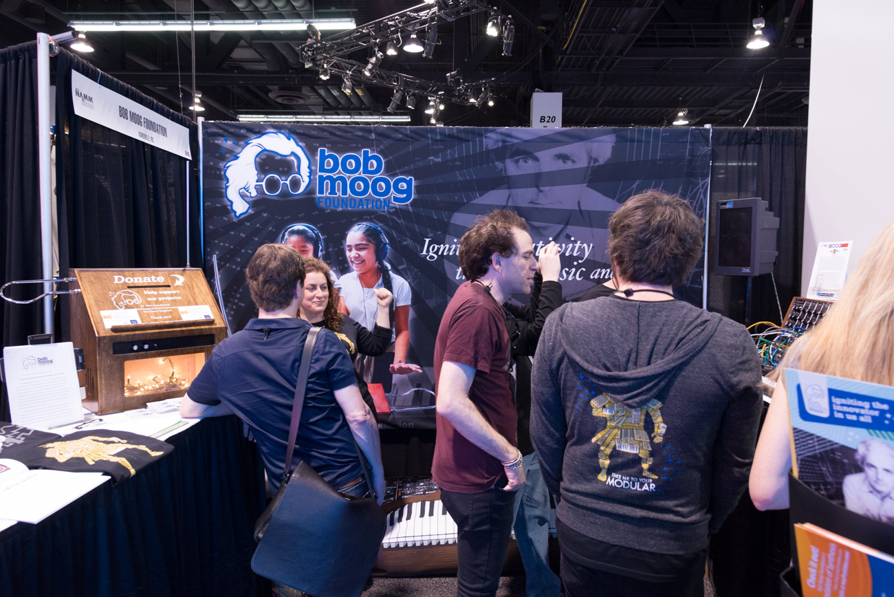 Winter NAMM 2014:Bob Moog Foundation