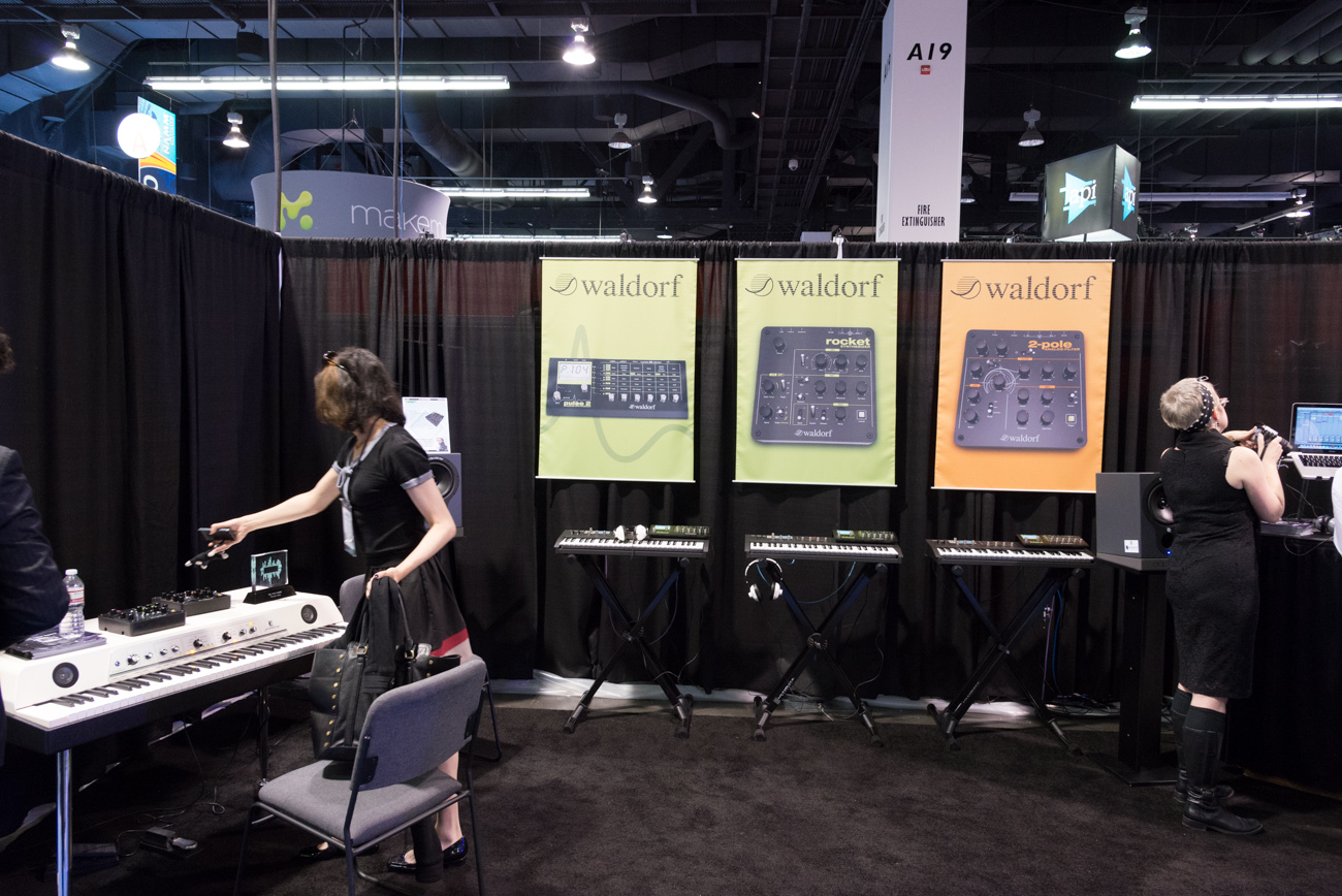 Winter NAMM2014:Waldorf
