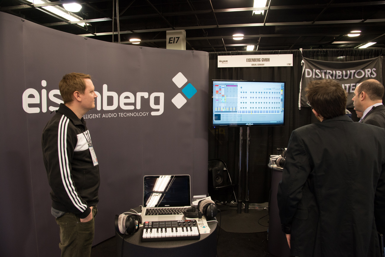 Winter NAMM 2014 : EISENBERG