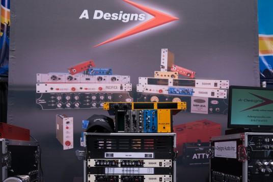 NAMM2014 A-Design booth