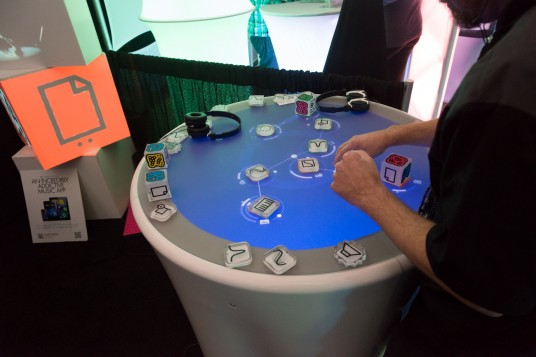 NAMM2014 Reactable