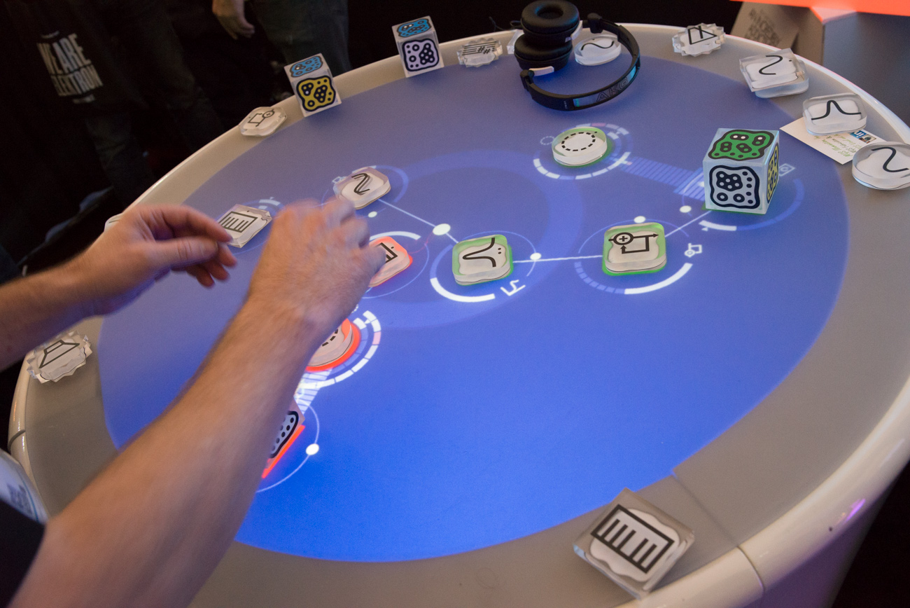 Winter NAMM 2014 : Reactable
