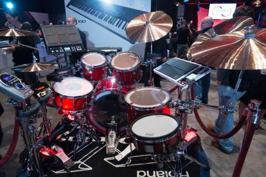 NAMM 2014 Roland V-Drums