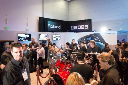 NAMM2014 Roland