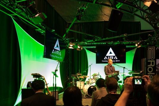 NAMM 2014 Roland AIRA