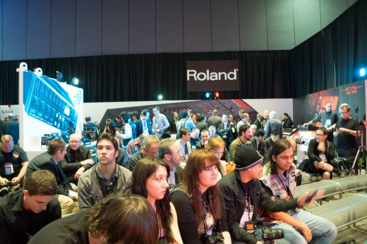 NAMM 2014 Roland Connect