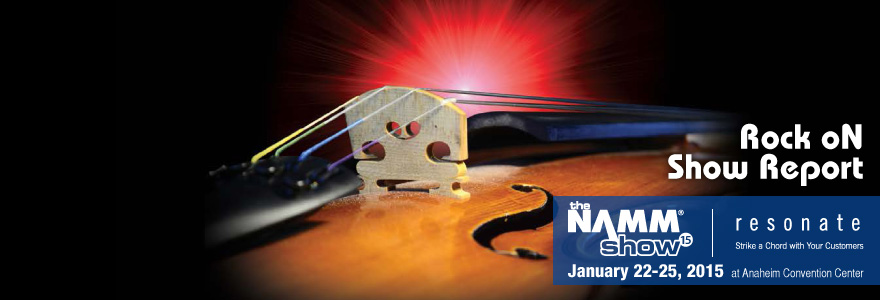 NAMM2015 Show Report!!
