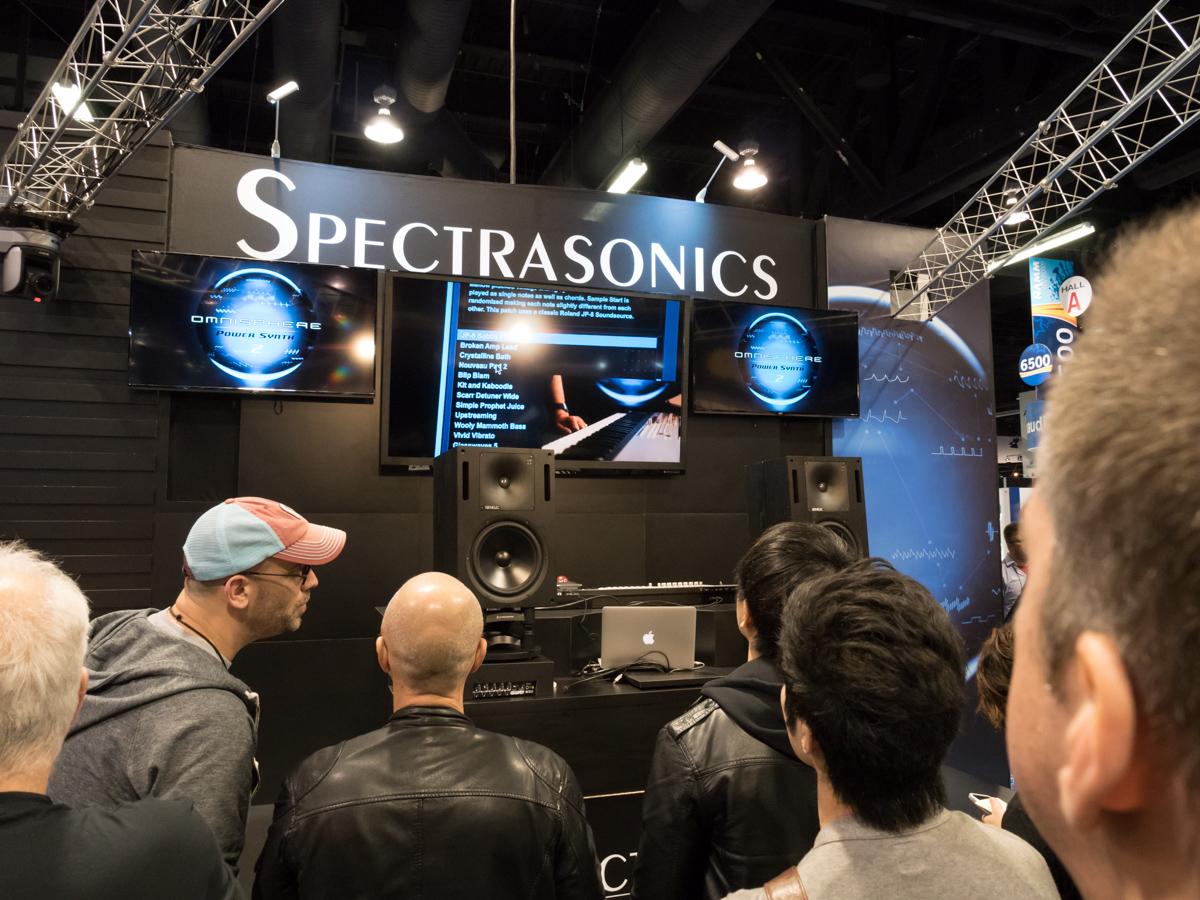 NAMM2015 Day1 : Spectrasonics