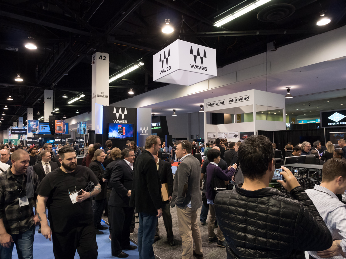 NAMM2015 Day1 : DiGiGrid / Waves