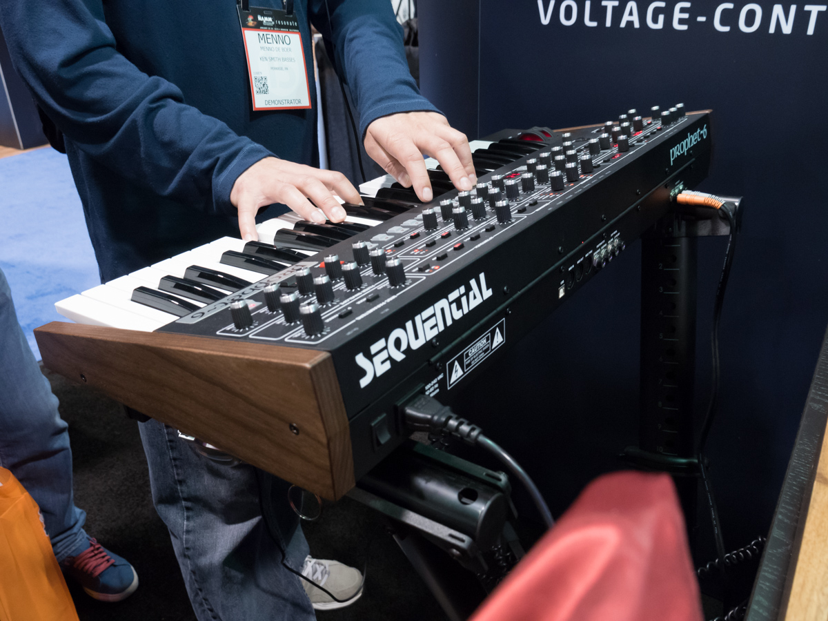 NAMM2015 Day1 : SEQUENCIAL(Dave Smith Instruments)