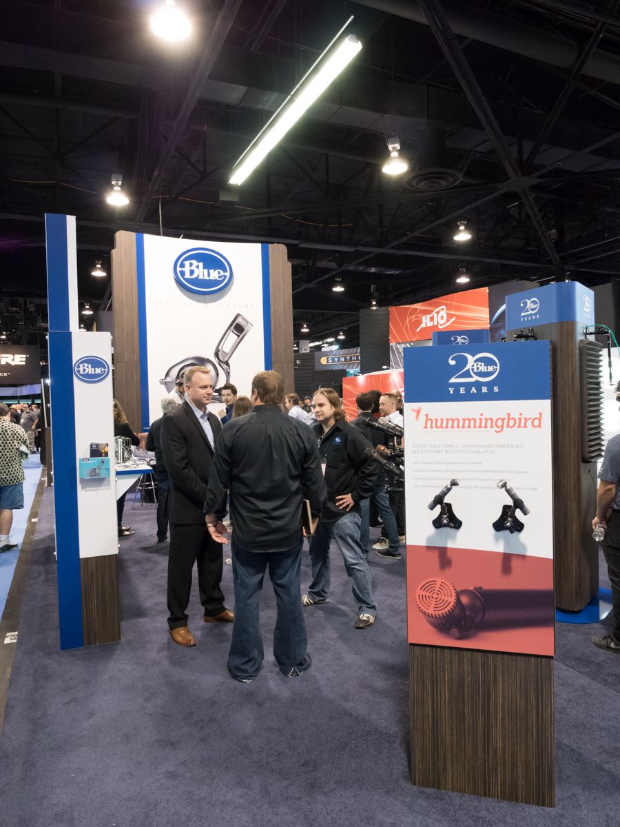 NAMM2015 Day1 : Blue Microphones