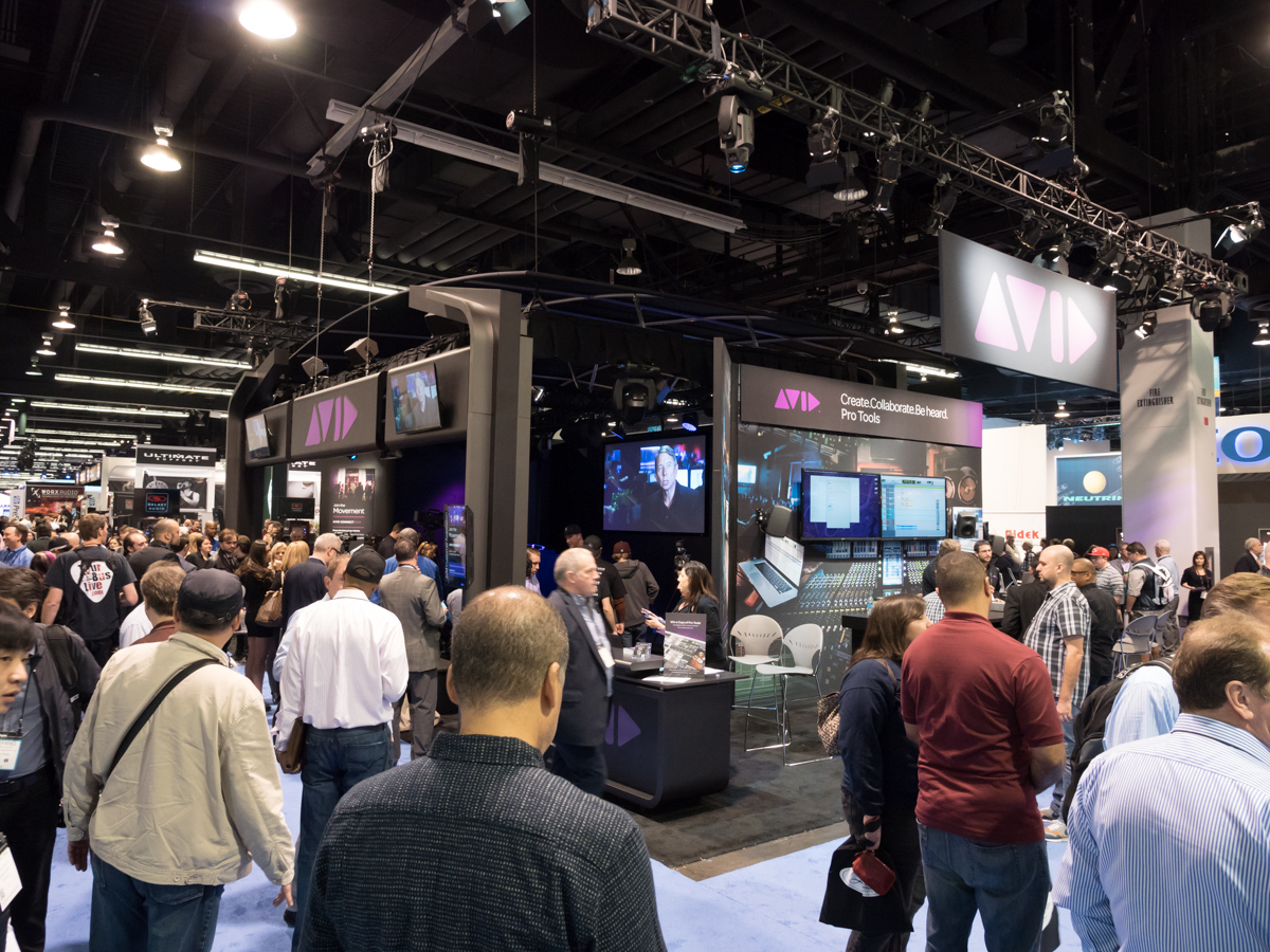 NAMM2015 Day1 : AVID ProTools 12 & ProTools First