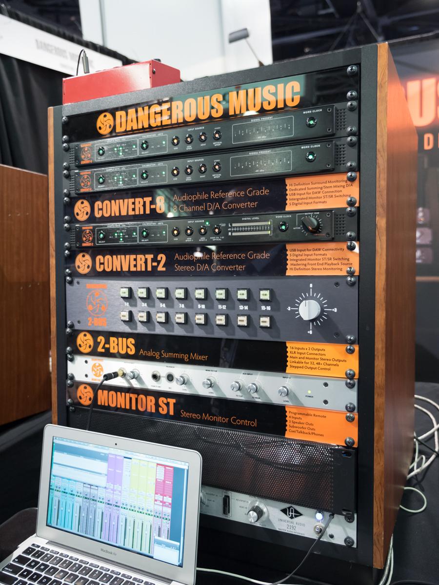 NAMM2015 Day1 : Dangerous Music