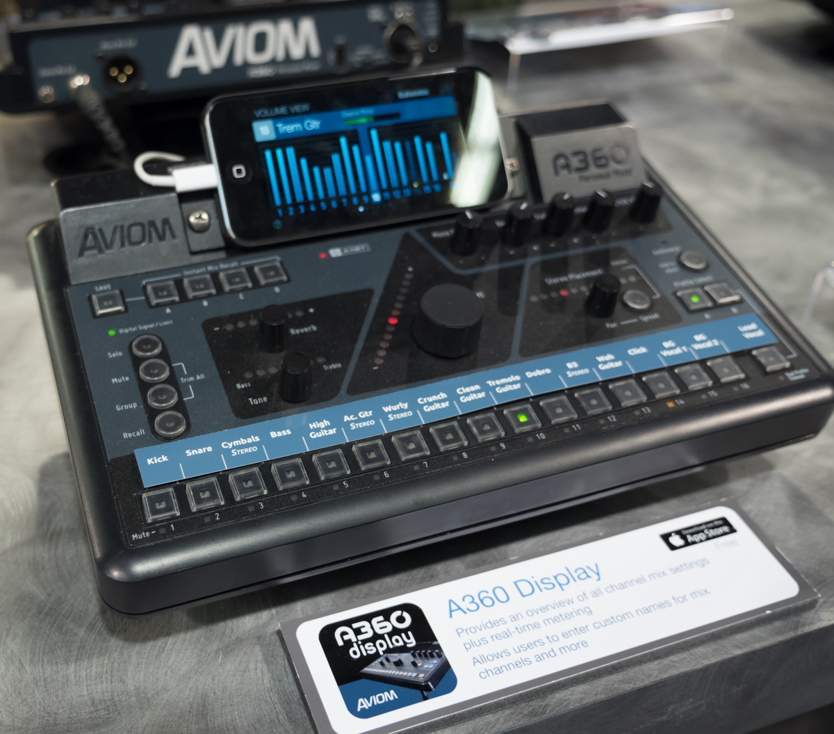 NAMM2015 Day2 : Aviom