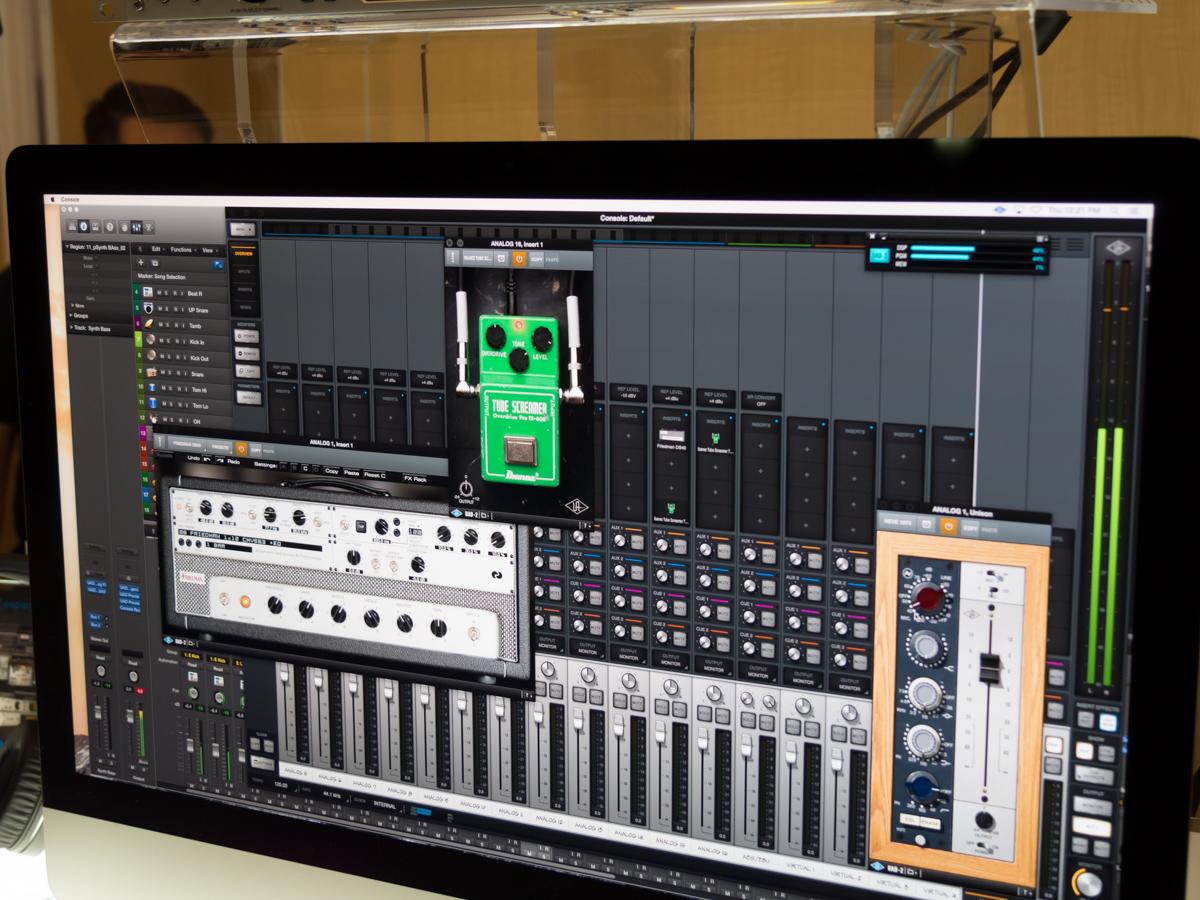 NAMM2015 Day1 : Universal Audio