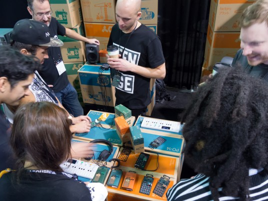 Teenage Engineering at NAMM 2015