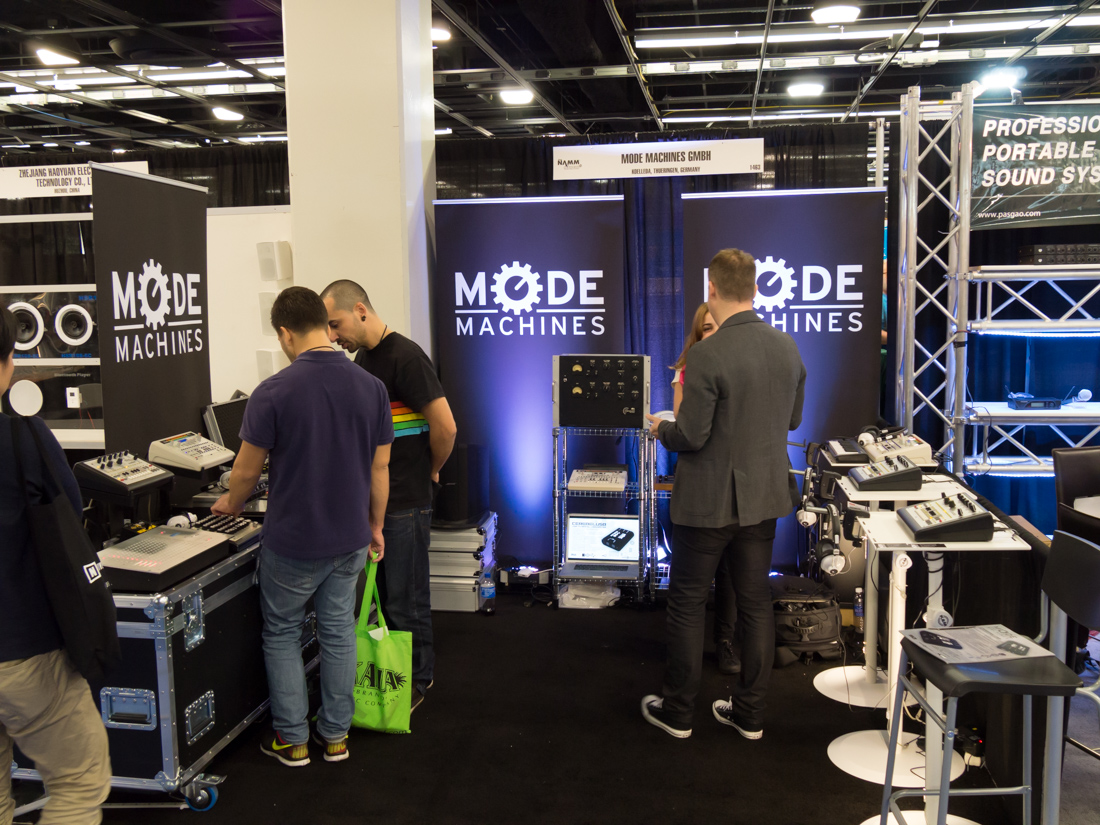 NAMM2015 : MODE MACHINES