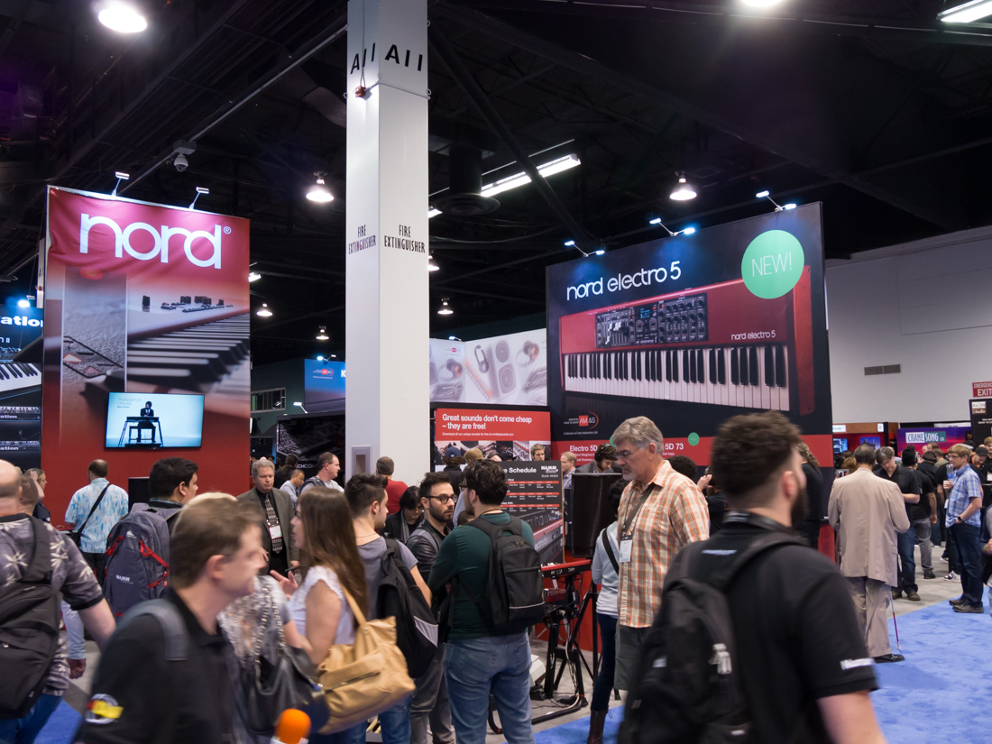 NAMM2015 Day3 : NORD