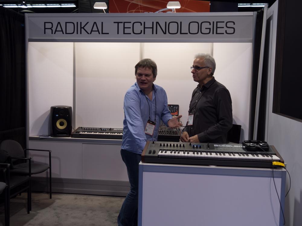 NAMM2015 Day3 : RADIKAL TECHNOLOGIES