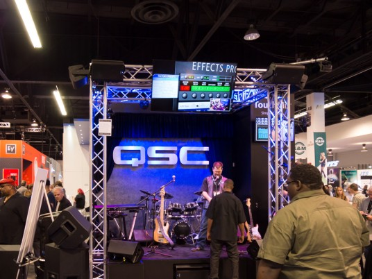 namm2015 Rock oN QSC