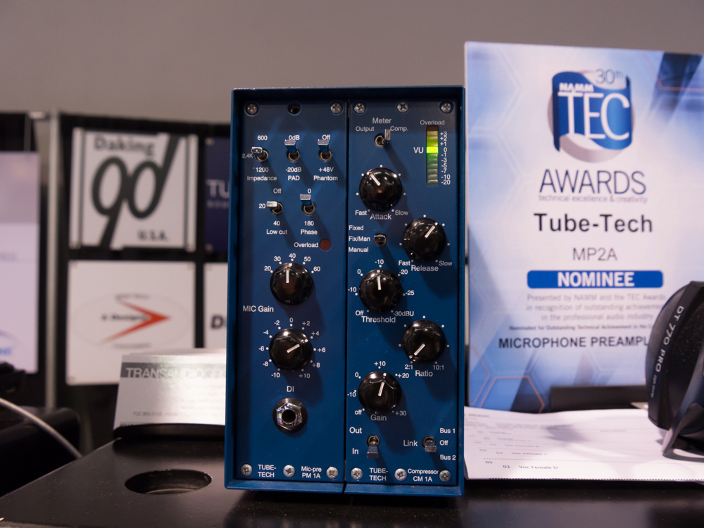 NAMM2015 : TUBE-TECH
