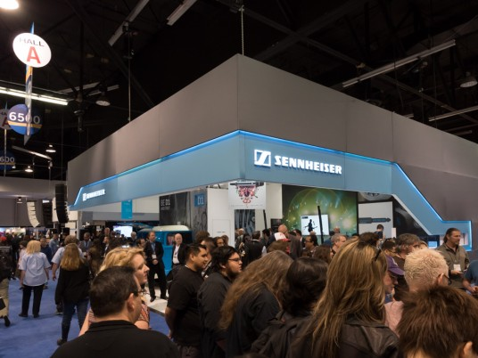NAMM2015 Rock oN SENHHEISER