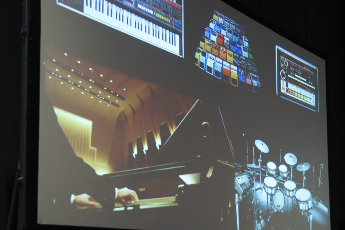 NAMM2015 Day1 Preview : Roland