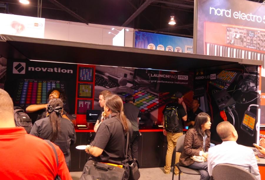 NAMM2015 Day2 : Novation