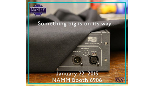 MANLEY Lab at NAMM 2015